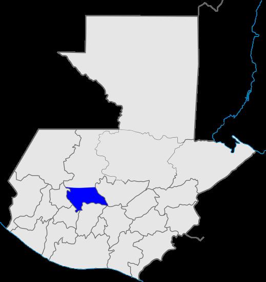 mapa distrito 4, Iglesia de Dios, Guatemala