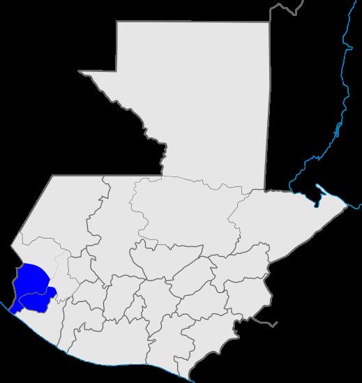 mapa distrito 8, Iglesia de Dios, Guatemala