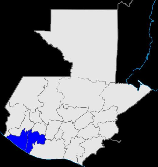 mapa distrito 9, Iglesia de Dios, Guatemala