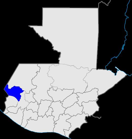 mapa distrito 10, Iglesia de Dios, Guatemala
