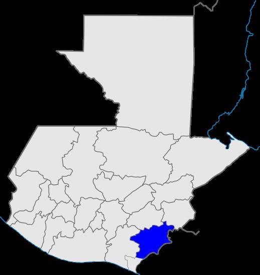 mapa distrito 12, Iglesia de Dios, Guatemala