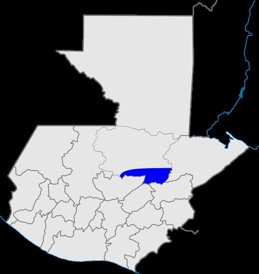 mapa distrito 17, Iglesia de Dios, Guatemala