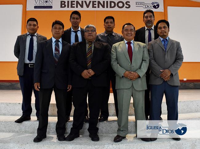directiva distrito 7, Iglesia de Dios, Guatemala